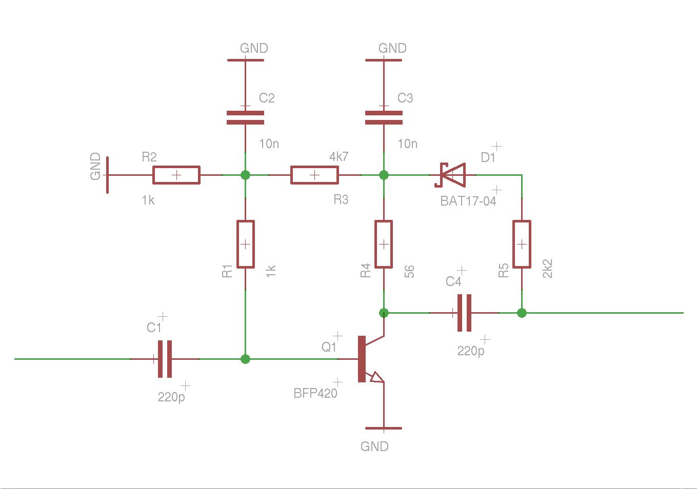 Circuit Broad Band 50mhz Optical Fiber Receiver Version A Circuits