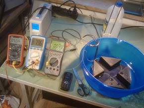 Silicone Heater Test Bench