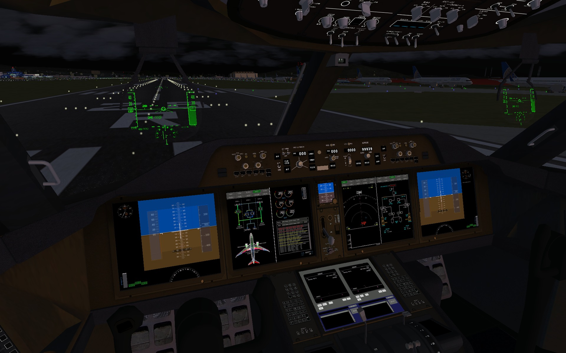 Apollo-NG - Playing with a Boeing 787-8 Dreamliner in Flightgear